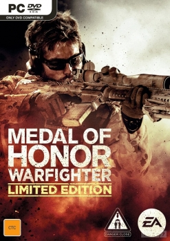 Medal of honor warfighter limited edition 2012